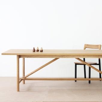 โต๊ะอาหารสั่งทำ รุ่น Dinsor สีโอ๊ค2