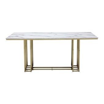 โต๊ะอาหาร รุ่น Lloyds สีขาว-00