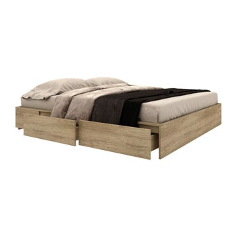 เตียงนอน ขนาด 6 ฟุต รุ่น Bruz-00
