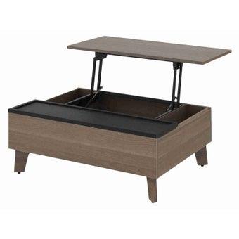 โต๊ะกลาง โต๊ะกลางไม้ล้วน รุ่น Missouri สีสีลายไม้ธรรมชาติ-SB Design Square