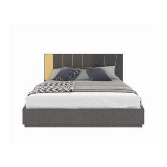 ชุดห้องนอน เตียง รุ่น Luxus สีสีเทา-SB Design Square