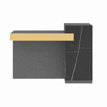 ชุดห้องนอน โต๊ะเครื่องแป้งแบบนั่ง รุ่น Luxus สีสีเทา-SB Design Square