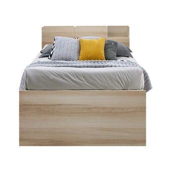 เตียงนอน ขนาด 3.5 ฟุต รุ่น Studeo สีโอ๊ค-01