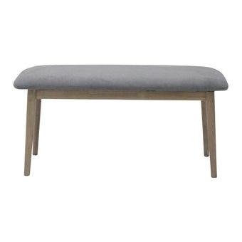 เก้าอี้ทานอาหาร เก้าอี้ไม้เบาะผ้า รุ่น Ganto สีสีเทา-SB Design Square