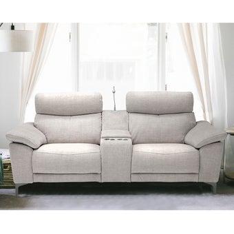 โซฟาผ้า 2 ที่นั่ง Lapimo สีครีม 04