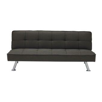 โซฟาผ้า โซฟาเบด รุ่น Gaber สีสีเทา-SB Design Square