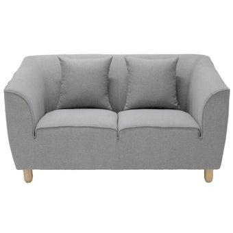 โซฟาผ้า 2 ที่นั่ง Carera สีเทา-01
