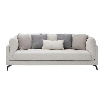 โซฟาผ้า โซฟา 3 ที่นั่ง รุ่น Gubbie สีสีครีม-SB Design Square