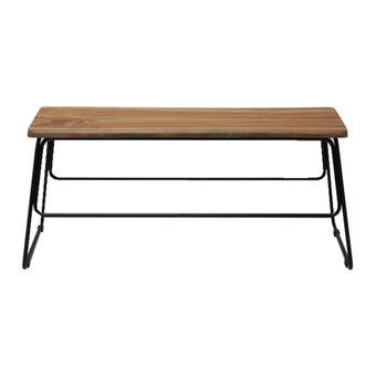 เก้าอี้ทานอาหาร เก้าอี้เหล็กเบาะไม้ รุ่น Fer สีสีลายไม้ธรรมชาติ-SB Design Square