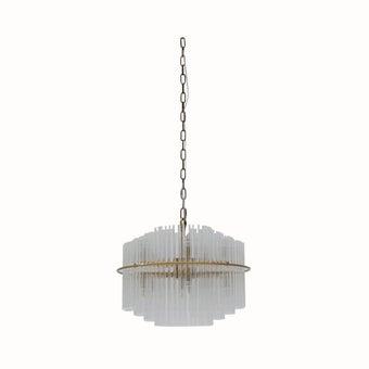 โคมไฟแขวน#KR1137A-11โลหะสีแก้ว/KN
