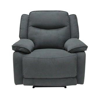 เก้าอี้พักผ่อนผ้า 1 ที่นั่ง รุ่น Maden สีเทาเข้ม-00