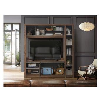 ชุดวางทีวีและตู้โชว์ รุ่น Vola ขนาด 180 ซม. แบรนด์ Koncept Smart สีไม้อ่อน01