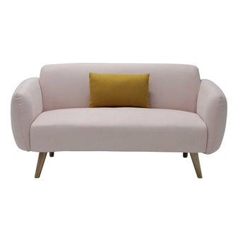 โซฟาผ้า2ที่นั่ง Auris สีชมพูอ่อน-00