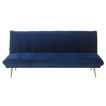 โซฟาเบดผ้า รุ่น Actto สีน้ำเงิน1