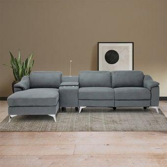เก้าอี้พักผ่อน รุ่น Legany สีเทา01