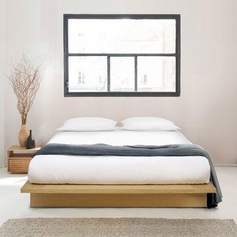 เตียงนอน รุ่น Ikon ขนาด 5 ฟุต สีไม้อ่อน5