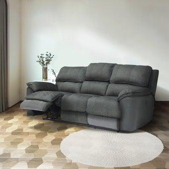 เก้าอี้พักผ่อนผ้า รุ่น Marage สีเทาเข้ม 02