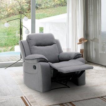 เก้าอี้พักผ่อน รุ่น Zircon สีเทาอ่อน1