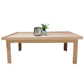 โต๊ะกลาง รุ่น KC Limited สีโอ๊ค1