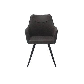 เก้าอี้ รุ่น Yogo สีน้ำตาลเข้ม01
