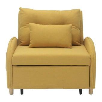 โซฟาเบดผ้า Covida เหลือง