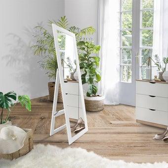กระจก รุ่น Cute สีขาว5