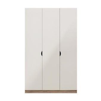 ตู้เสื้อผ้า ขนาด 120 ซม. รุ่น Preem สีไม้อ่อน1