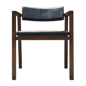 เก้าอี้ไม้ยาง รุ่น Tastilo เบาะหนัง