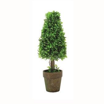 ต้นไม้ปลอม#ST12-T076 พลาสติก สีเขียว/JST