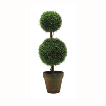 ต้นไม้ปลอม#ST11-T024C พลาสติก สีเขียว/JST