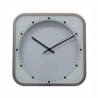 นาฬิกาแขวน#PL-2065 โลหะ สีขาว/BLT-00