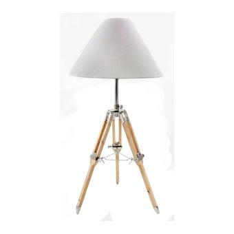 โคมไฟ โคมไฟตั้งโต๊ะ รุ่น Modern สีสีขาว-SB Design Square