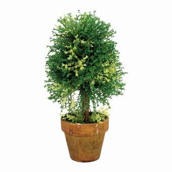 อุปกรณ์ตกแต่งสวน ต้นไม้ปลอม สีสีเขียว-SB Design Square