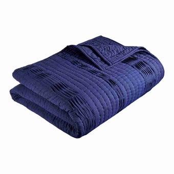 ชุดห้องนอน ผ้าคลุมเตียง รุ่น Fubuki สีสีฟ้า-SB Design Square