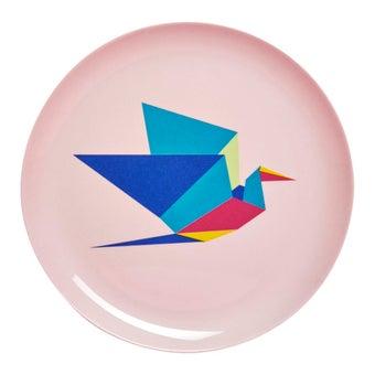 จานเมลามีน Origami 21cm-00