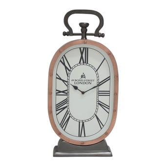 นาฬิกา นาฬิกาตั้งโต๊ะ สีสีทองแดง-SB Design Square
