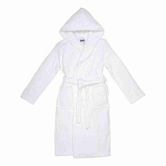 เสื้อคลุมอาบน้ำ Bali สีขาว ไซส์ M