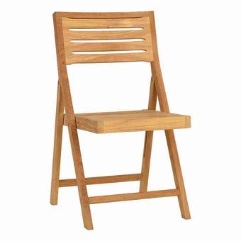 เก้าอี้พับสนามไม้ รุ่น Tiek