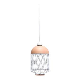 โคมไฟ โคมไฟแขวน รุ่น Modern Scan สีสีชมพู-SB Design Square
