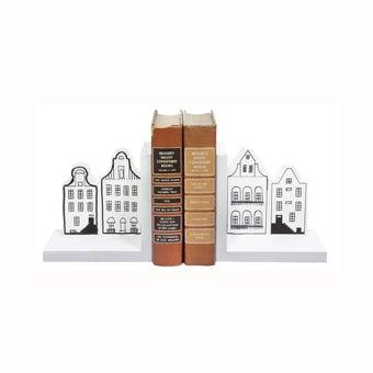 ที่คั่นหนังสือ#GM81-HQ114 ไม้ สีขาวดำ/CN