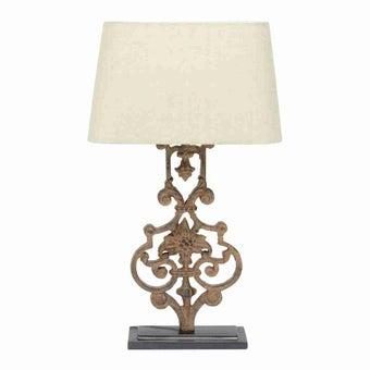 โคมไฟ โคมไฟตั้งโต๊ะ สีสีน้ำตาล-SB Design Square