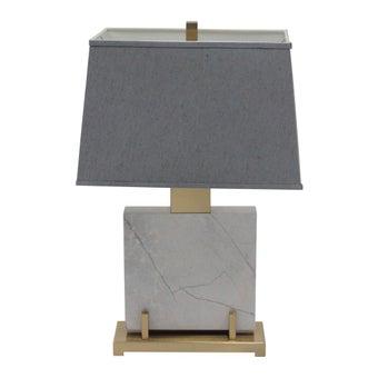 โคมไฟ โคมไฟตั้งโต๊ะ รุ่น Modern Luxury สีสีเทา-SB Design Square