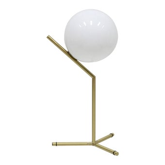 โคมไฟ โคมไฟตั้งโต๊ะ รุ่น Modern Luxury สีสีทอง-SB Design Square