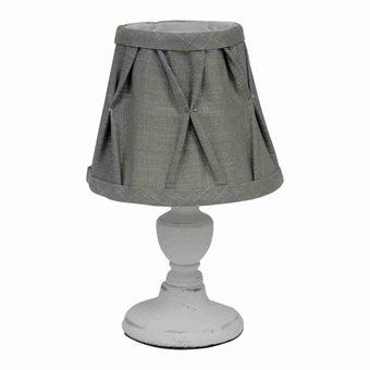 โคมไฟ โคมไฟตั้งโต๊ะ รุ่น Vintage สีสีขาว-SB Design Square
