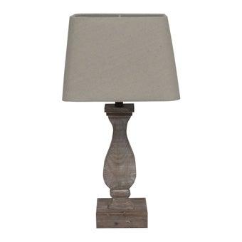 โคมไฟ โคมไฟตั้งโต๊ะ รุ่น Ecolism สีสีน้ำตาล-SB Design Square