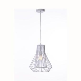 โคมไฟแขวน#ST58-646P25 S โลหะ ขาว/STH-01