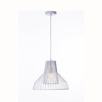 โคมไฟแขวน#ST58-648P25 Sโลหะ ขาว/STH-01
