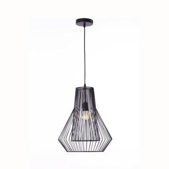 โคมไฟแขวน#ST58-646P1 Mโลหะ ดำ/STH-01