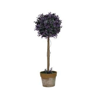 ต้นไม้ประดิษฐ์#ST14-T189 พลาสติก สีม่วง/JST