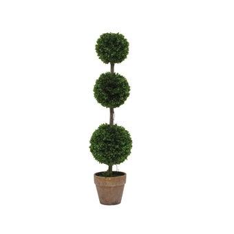 ต้นไม้ประดิษฐ์#ST17-T264 พลาสติก สีเขียว/JST